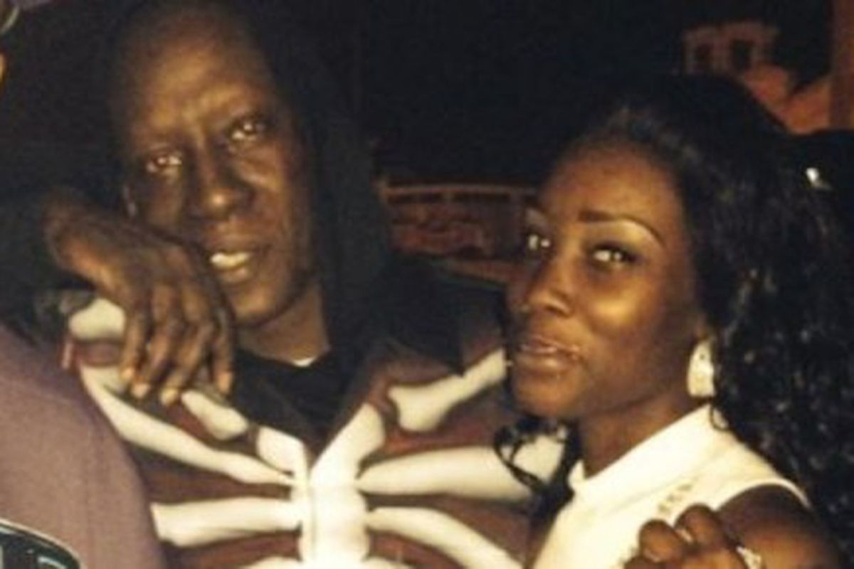 Crunchy Black and daughter