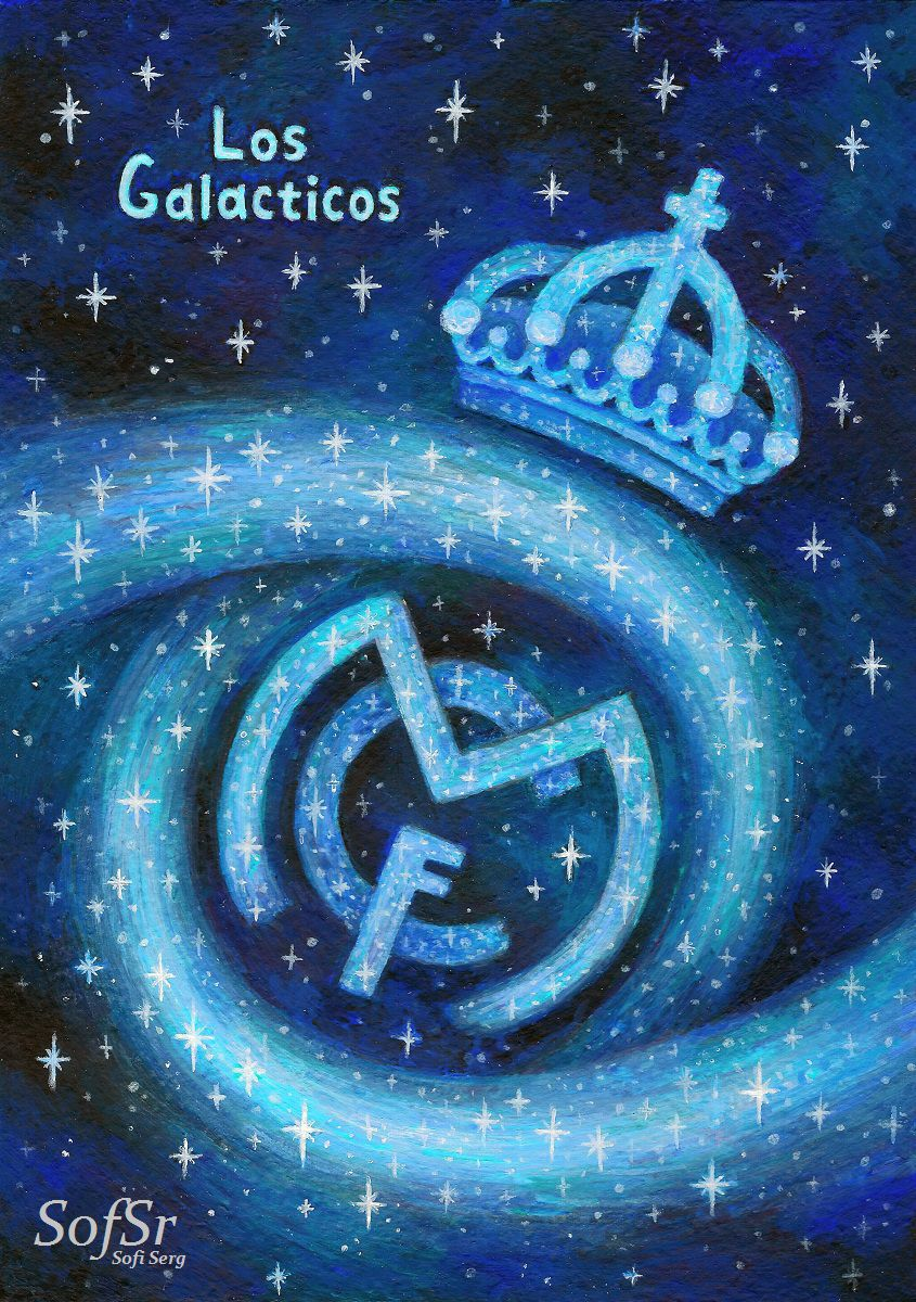 Real Madrid. Artwork by Sofi Serg.