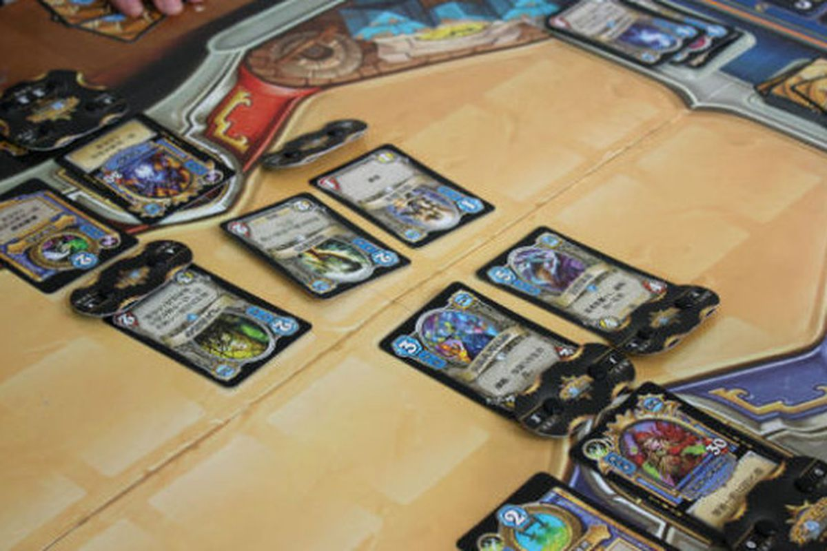 Play Hearthstone With Real Cards In This Knockoff Polygon