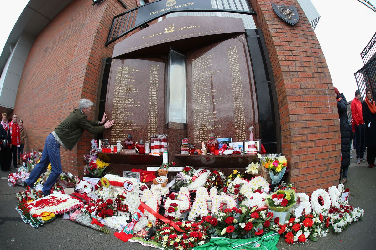 The Hillsborough Memorial this past Sunday for our match against Man City