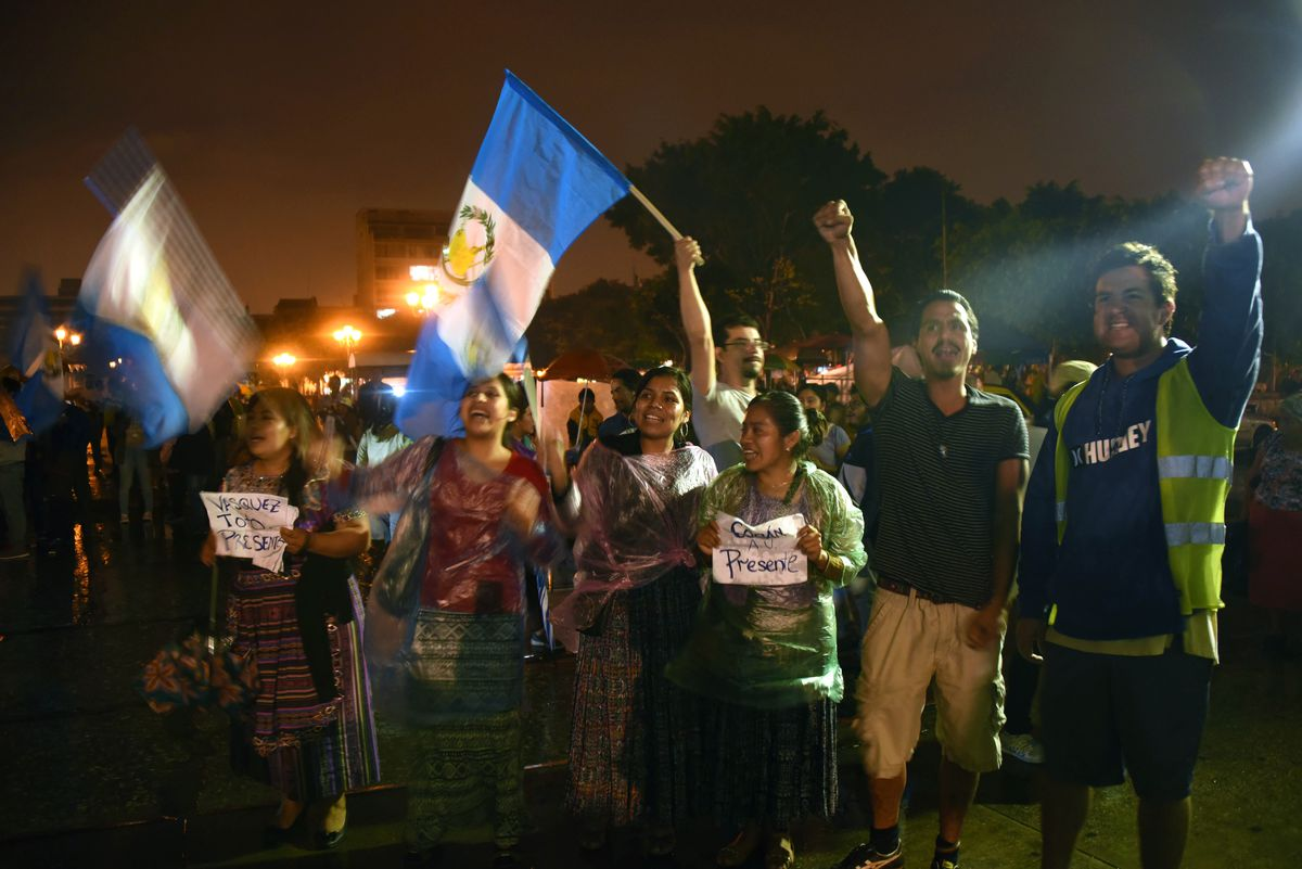 Guatemala protesters