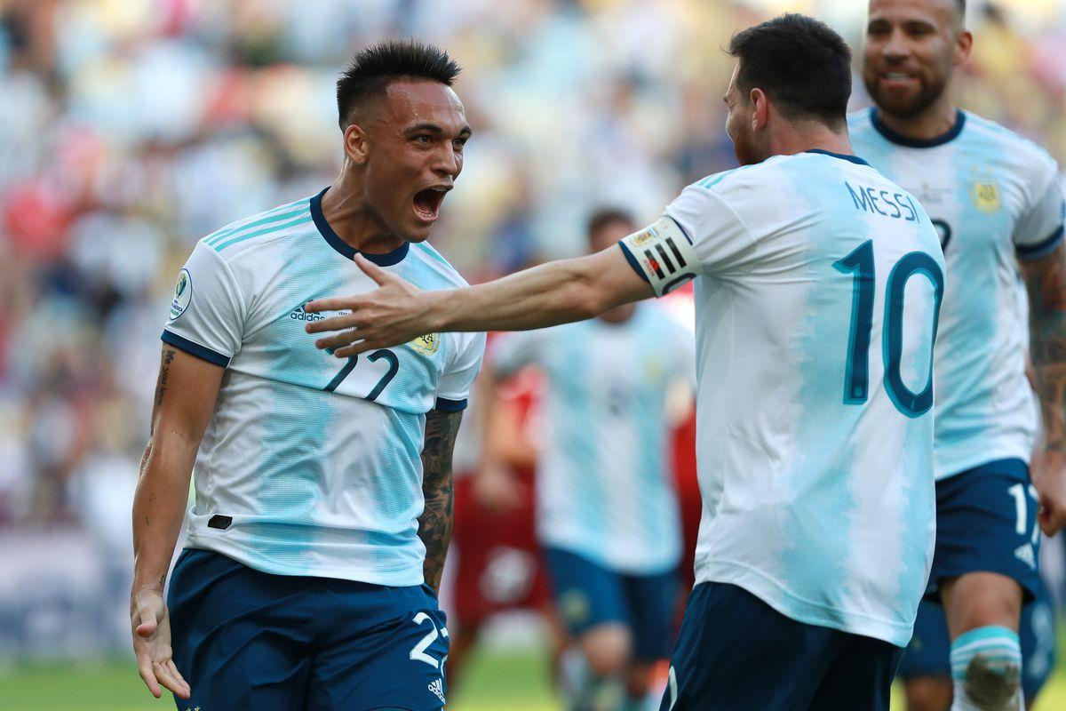 Lionel Messi + Lautaro Martinez- Argentina
