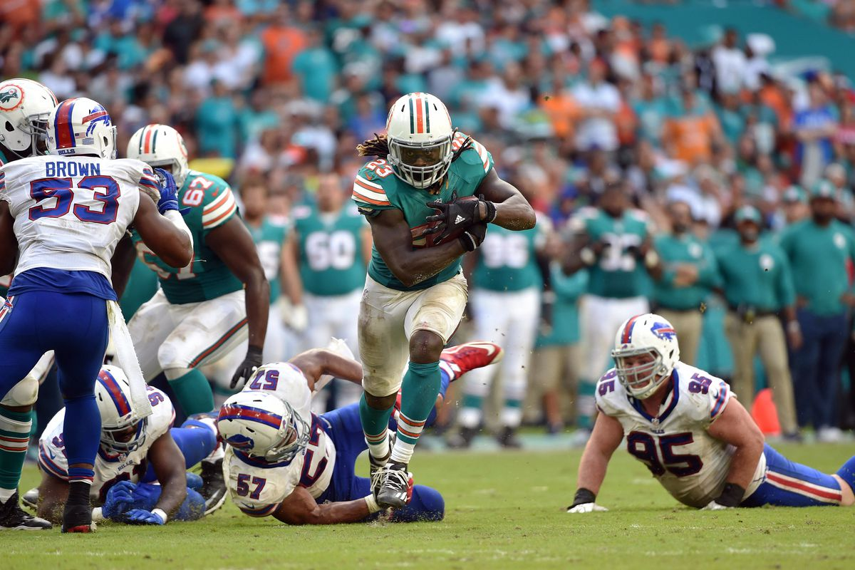 Jay Ajayi is the feature back the Dolphins have been waiting for