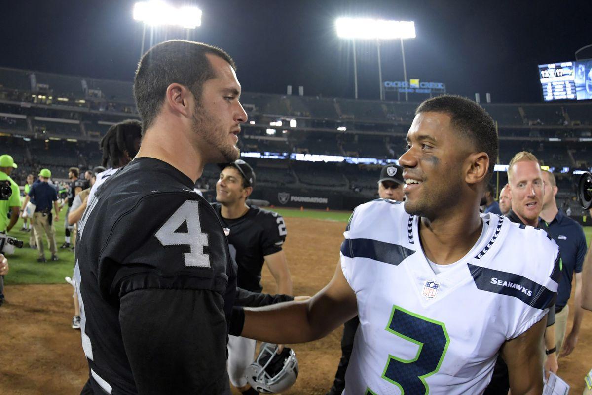 NFL: Seattle Seahawks at Oakland Raiders