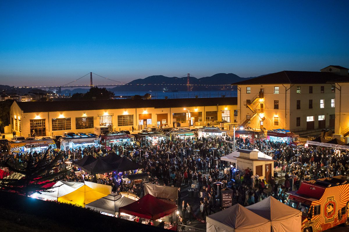 Off the Grid's flagship Fort Mason market