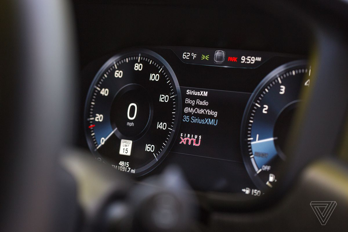 ScreenDrive: Volvo's take on the touchscreen actually makes