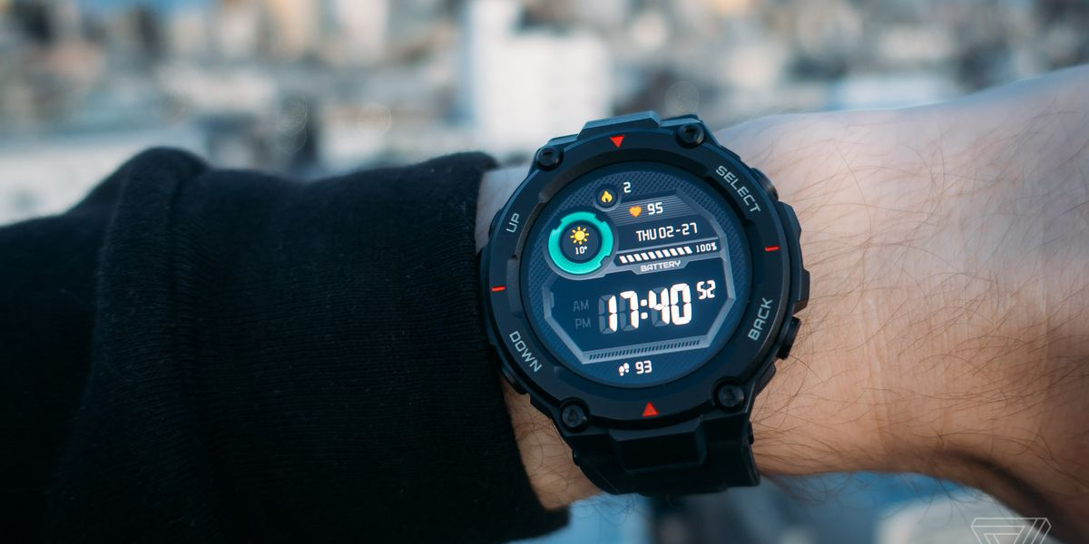 This Xiaomi-backed smartwatch has incredible battery life