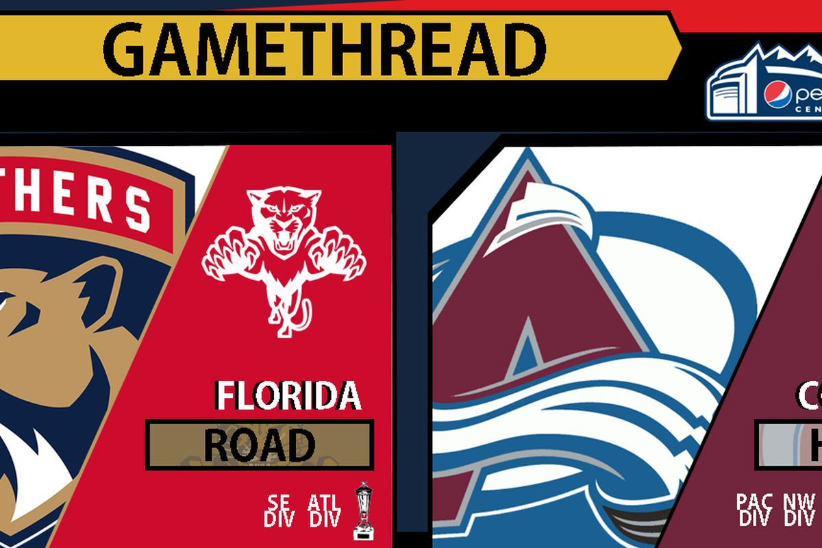 9312a8379 GameDay Caterwaul   Thread  Florida Panthers at Colorado Avalanche ...