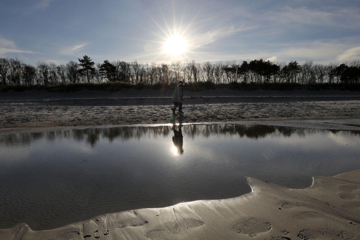 Sun at the Baltic Sea