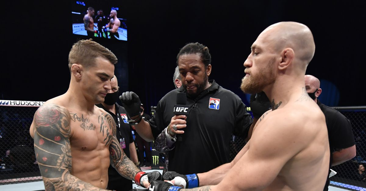 Dustin Poirier, Conor McGregor battle over donation never made to charity after UFC 257