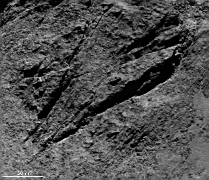 comet tectonics