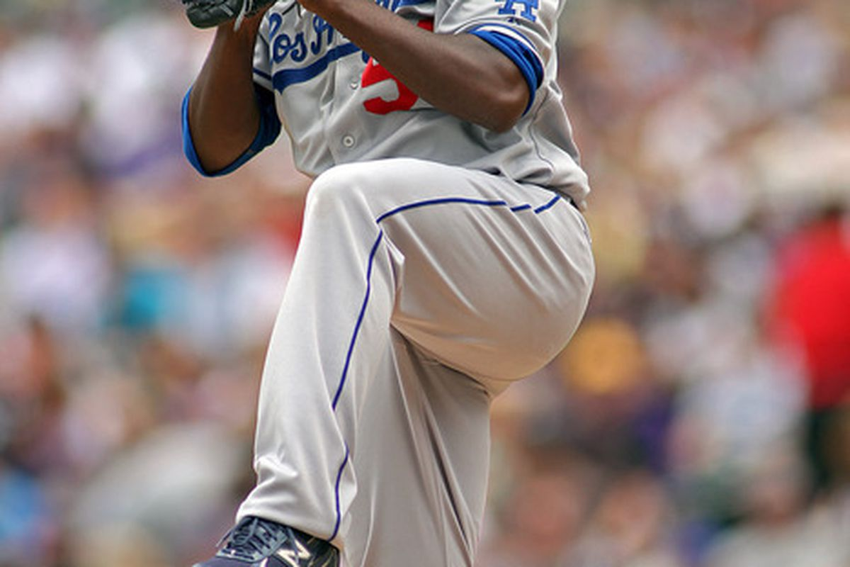 Rubby De La Rosa is the most recent graduate from the Dominican Dodgers to play in Los Angeles.  Ramon Troncoso is another memeber of this club