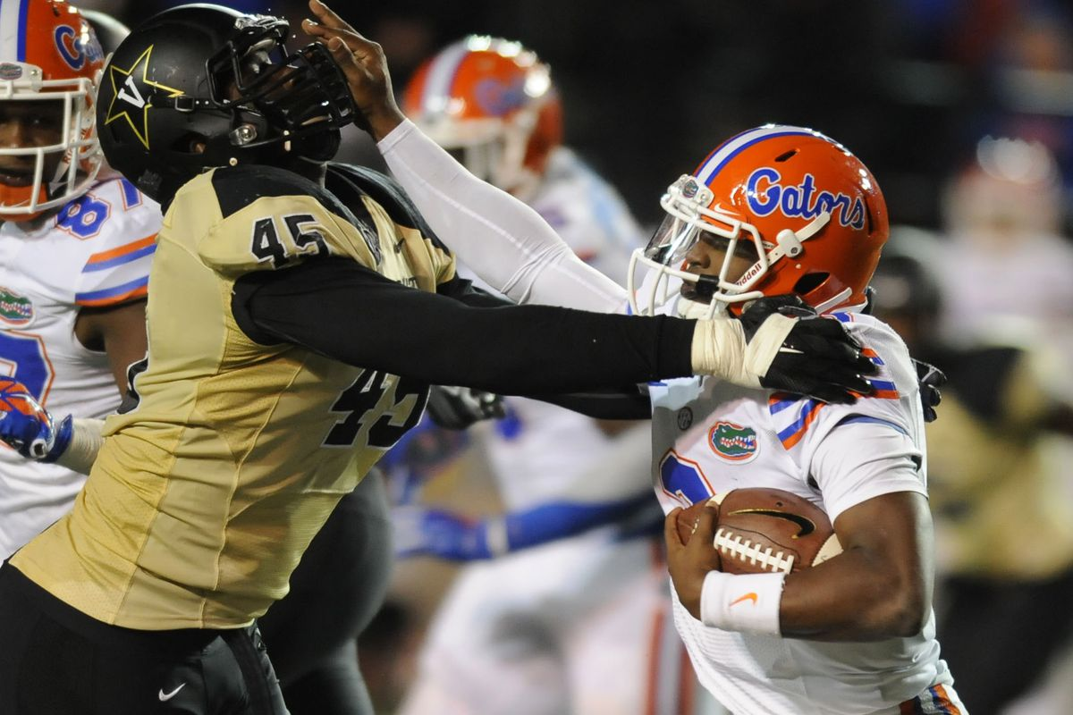The Gators gave a stiff arm to the Commodores last weekend.