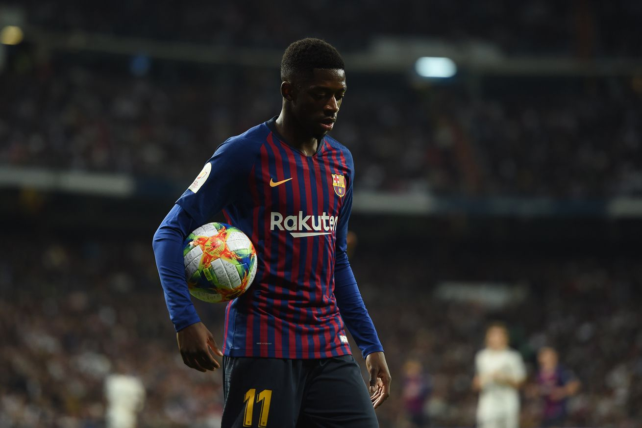 Dembele returns to training, Valverde still to decide if he?ll face Lyon