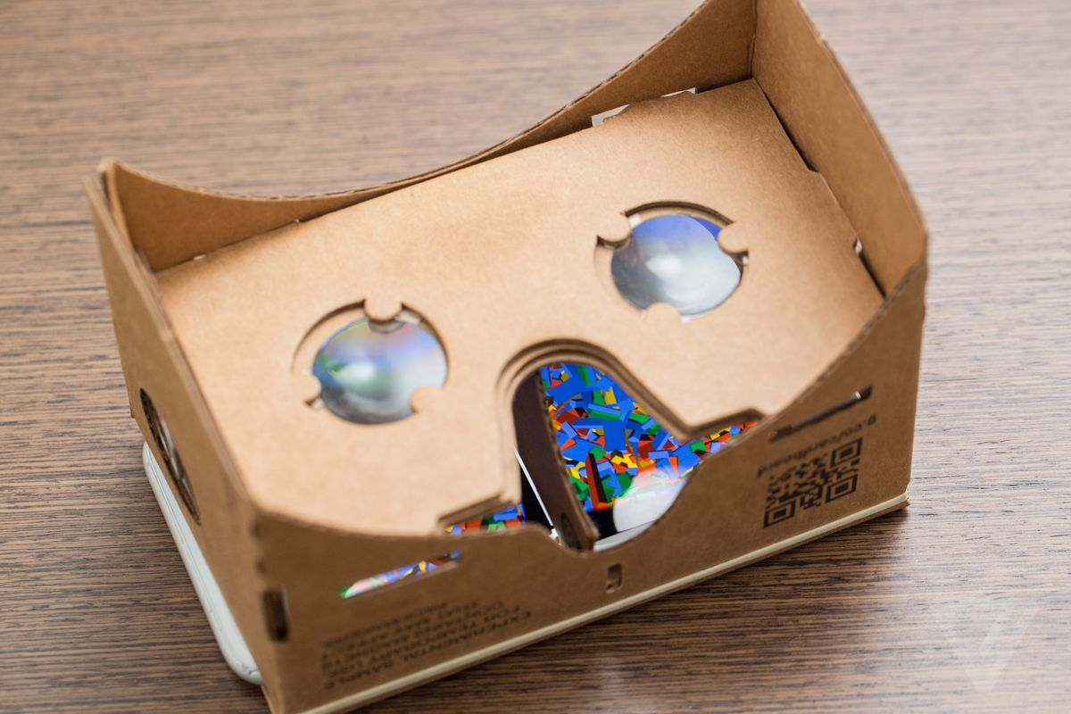 You can now buy a Cardboard VR viewer directly from Google - The Verge