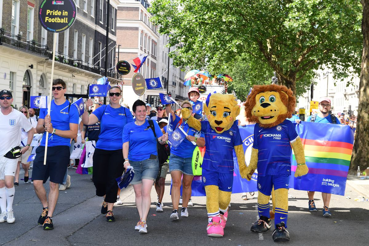 Chelsea Foundation - Pride In London 2018