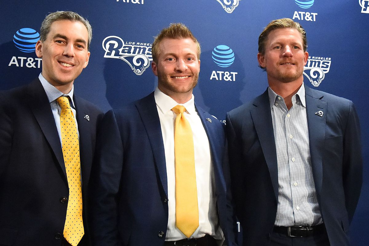 LA Rams transcripts: Training camp presser with Demoff, Snead, & McVay