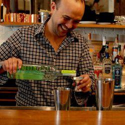 Naren Young, bartender at Saxon & Parole