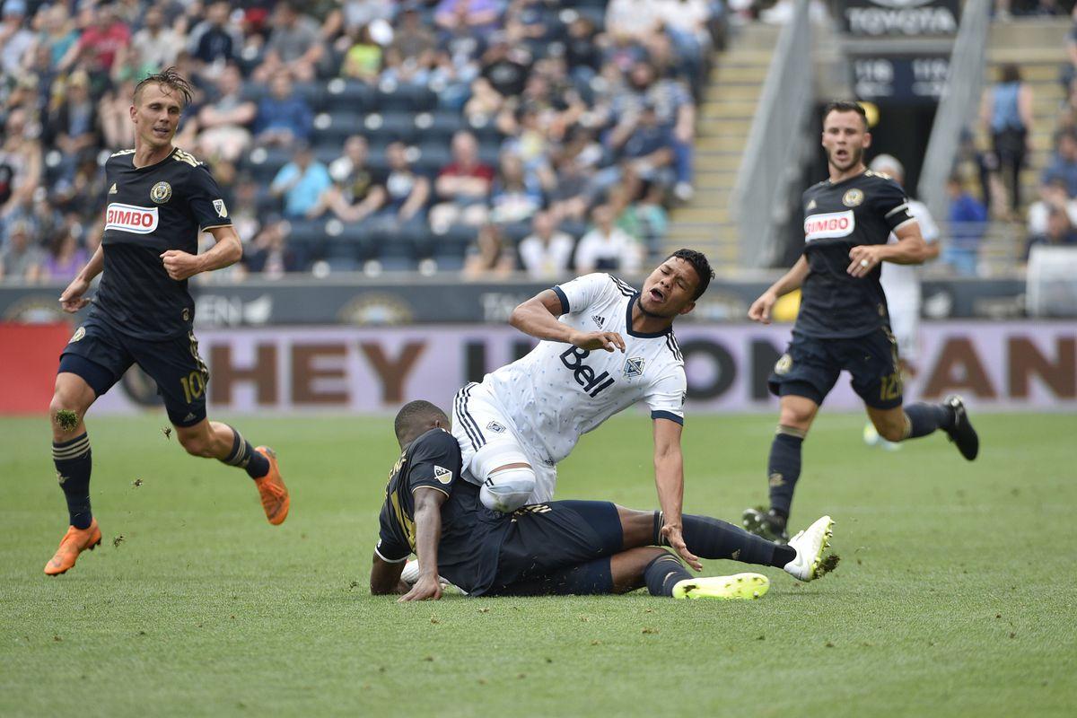 MLS: Vancouver Whitecaps at Philadelphia Union