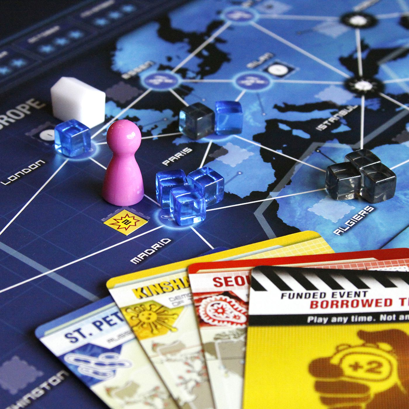 The Best Two Player Board Games Polygon Block Diagram