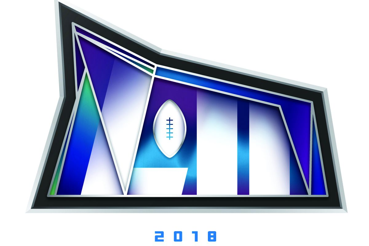 The Official Super Bowl LII Logo for the Vikings bid