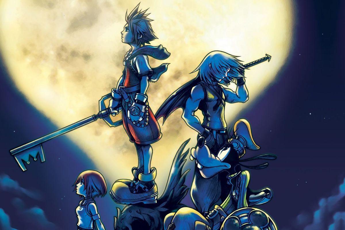 Artwork from the original Kingdom Hearts