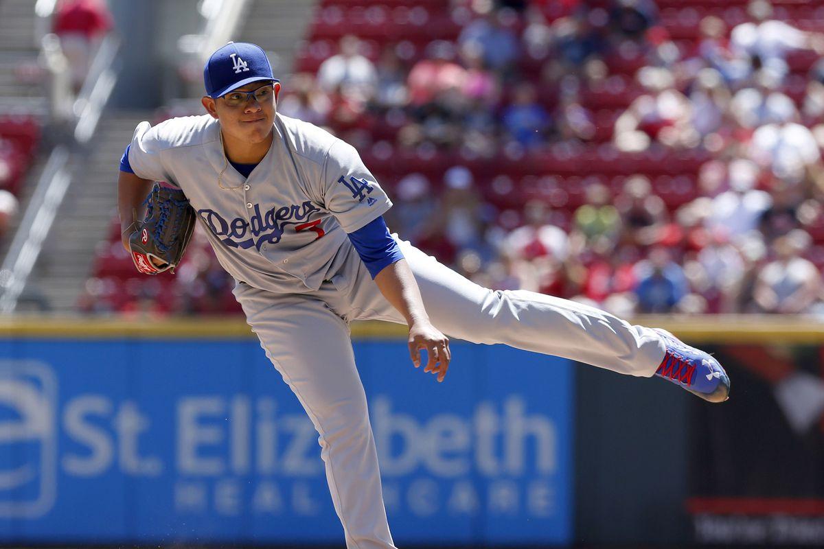 MLB: Los Angeles Dodgers at Cincinnati Reds