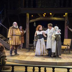 """A scene from the Utah Shakespeare Festival's 2015 production of """"Henry IV Part Two."""""""