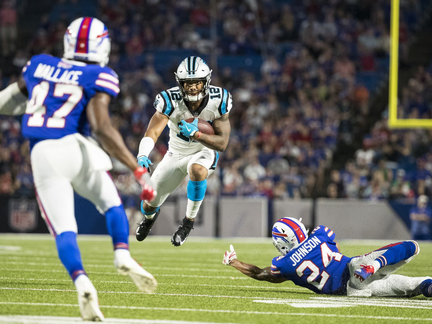 a5d987710 Carolina Panthers WR D.J. Moore wins his first (unofficial) NFL ...