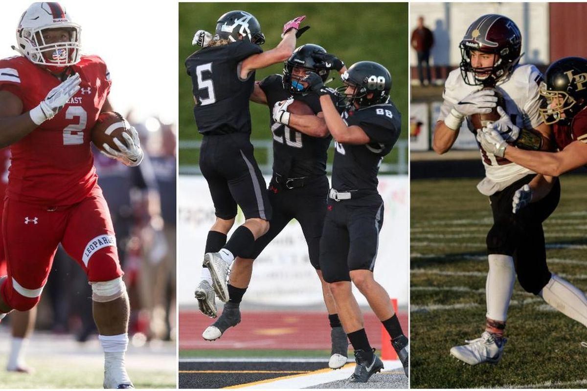 East's Jaylen Warren, Alta's Josh Davis and Jordan's Spencer Curtis all left their mark on the 2016 football season.