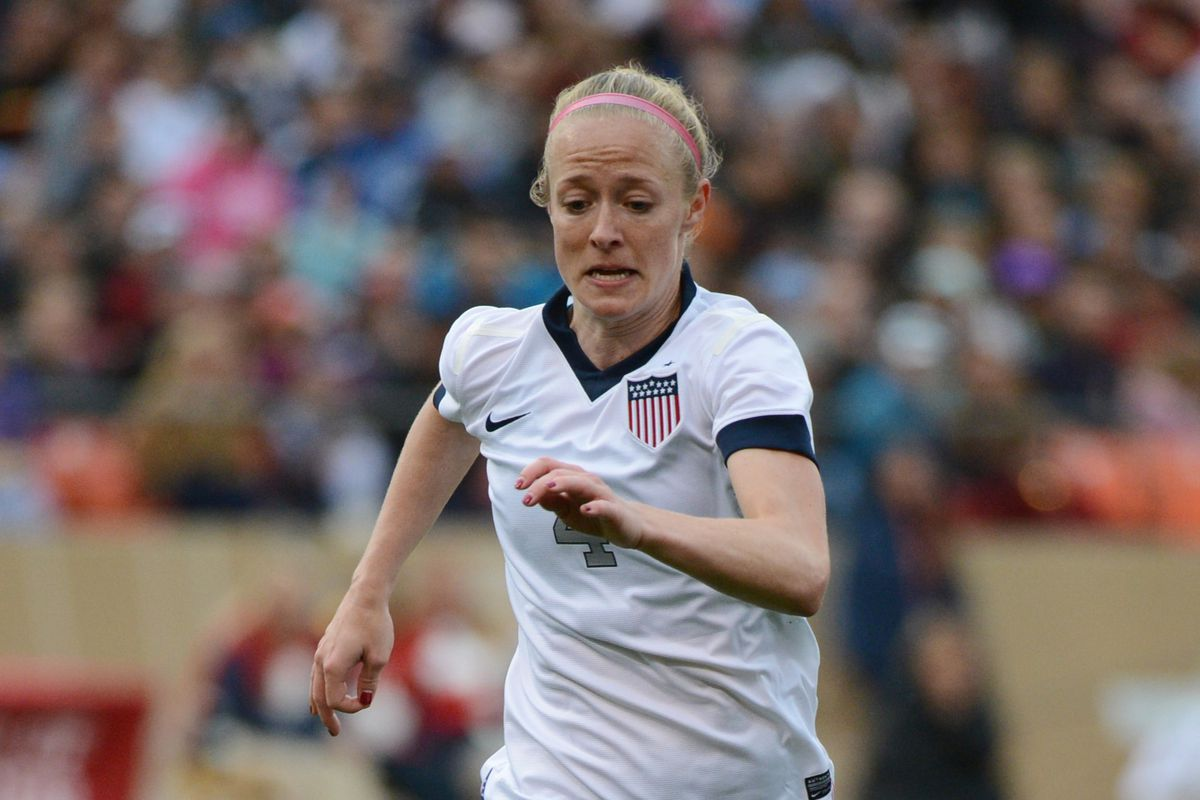 Two time NWSL defender of the year Becky Sauerbrunn in on the qualifying roster
