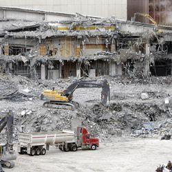 City Creek Construction/Demolition January 15, 2008.