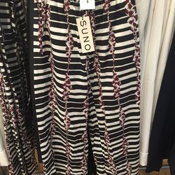 Suno wide-leg drawstring pants, size 2, $127.50 (from $425)