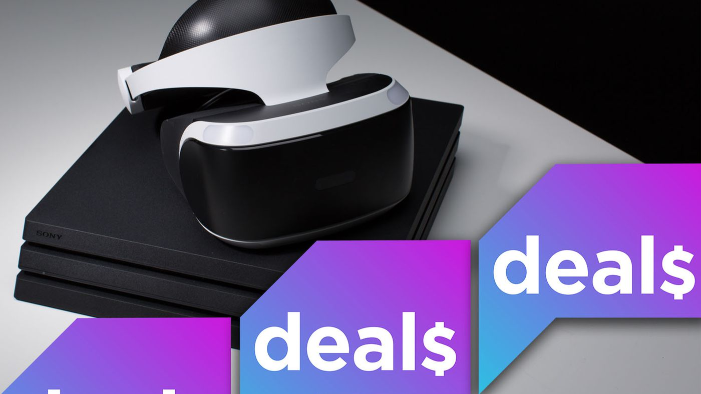 PlayStation VR deals, Microsoft's spring sale and more