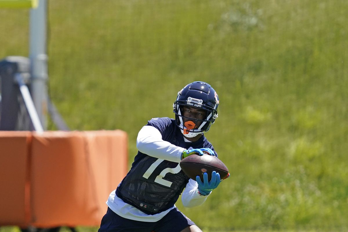 Bears receiver Allen Robinson is entering his fourth season with the team.