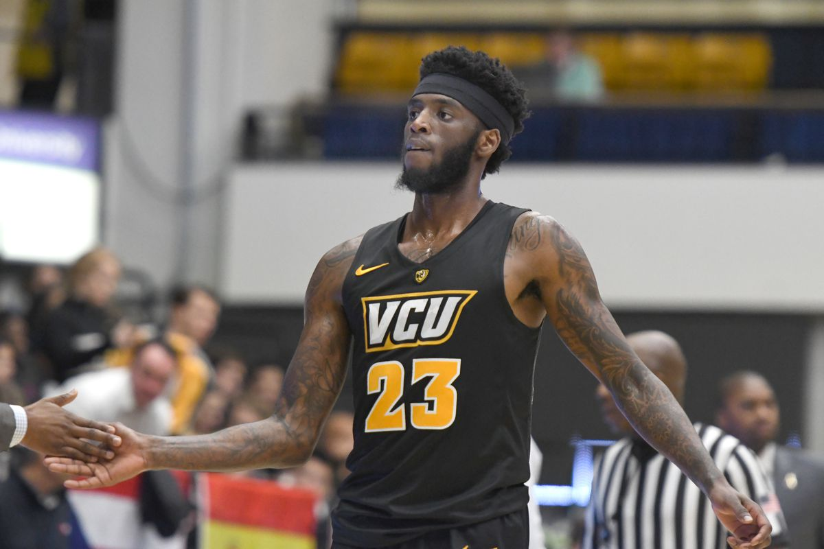 Issac Vann of the Virginia Commonwealth Rams comes out fo the game during a college basketball game against the George Washington Colonials at the Smith Center on February 6, 2019 in Washington,DC.