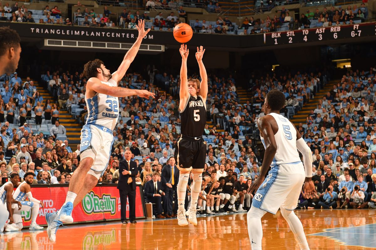 Wofford stuns No 5 North Carolina in Chapel Hill