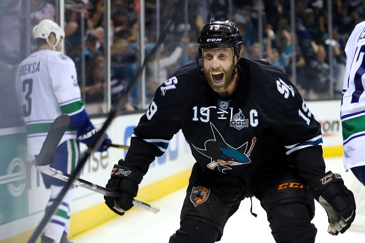 2013 Sharks Season Review Joe Thornton Fear The Fin