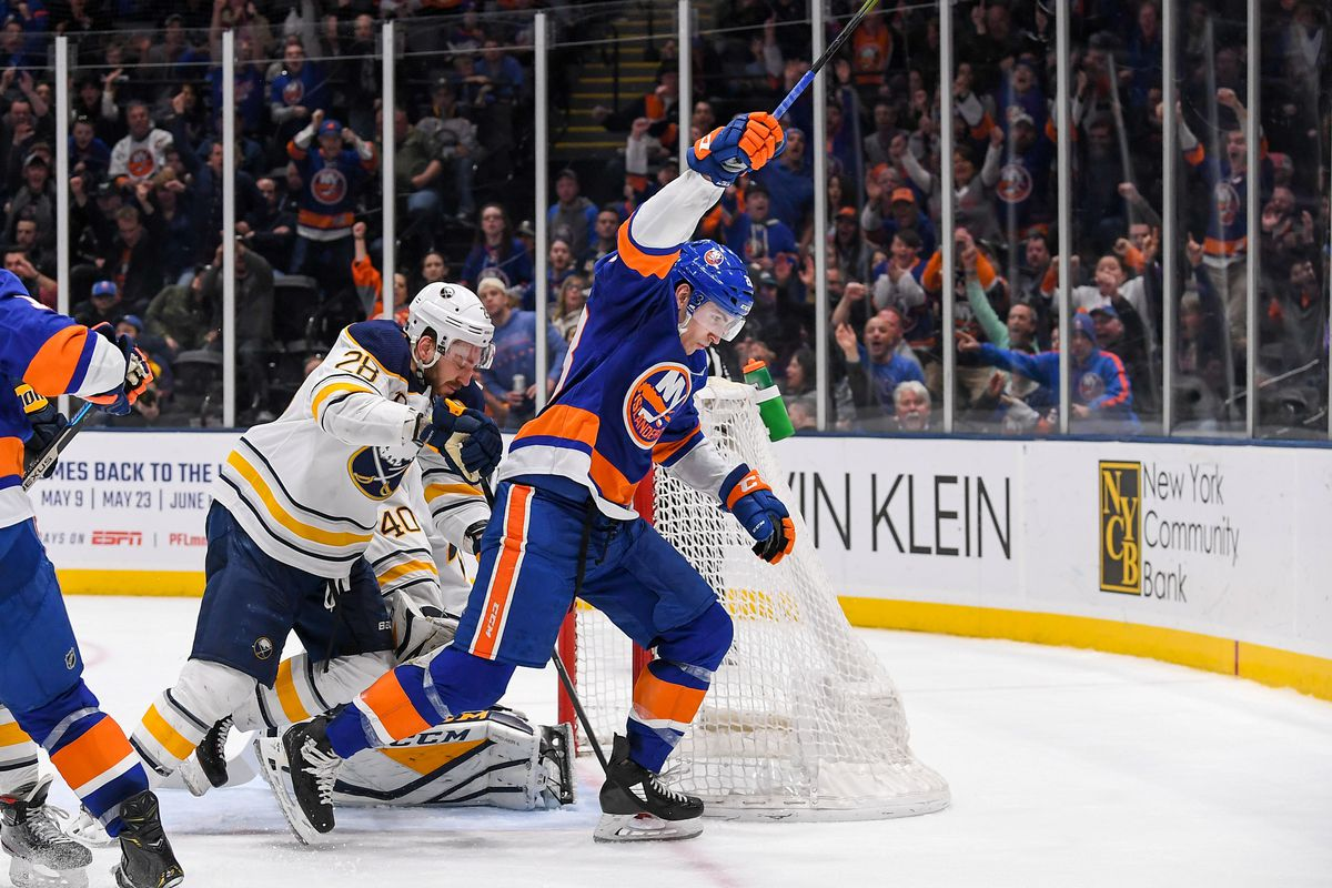 NHL: Buffalo Sabres at New York Islanders