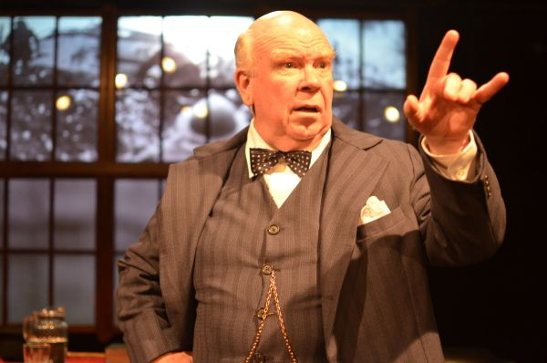 """Ron Keaton starred in the one-man show, """"Churchill,"""" the initial offering of SoloChicago Theatre. (Photo: Jason Epperson)"""