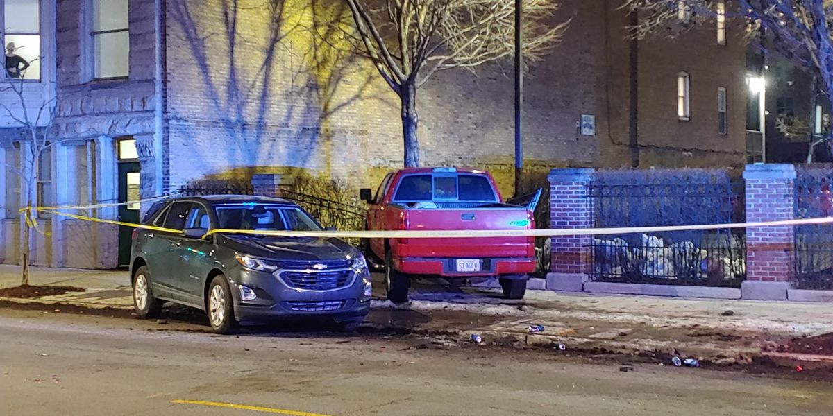 DUI driver crashes into parked SUV, fence on Near West Side