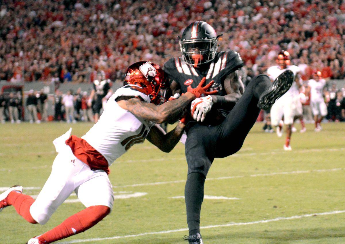 NCAA Football: Louisville at North Carolina State