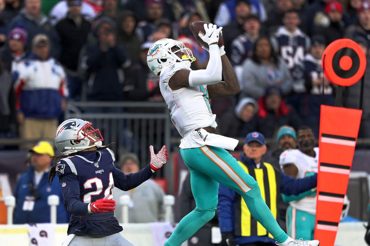 Miami Dolphins Vs. New England Patriots At Gillette Stadium
