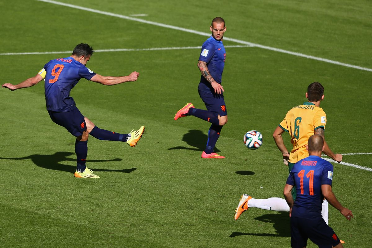 You won't see this against Chile, that much is certain.
