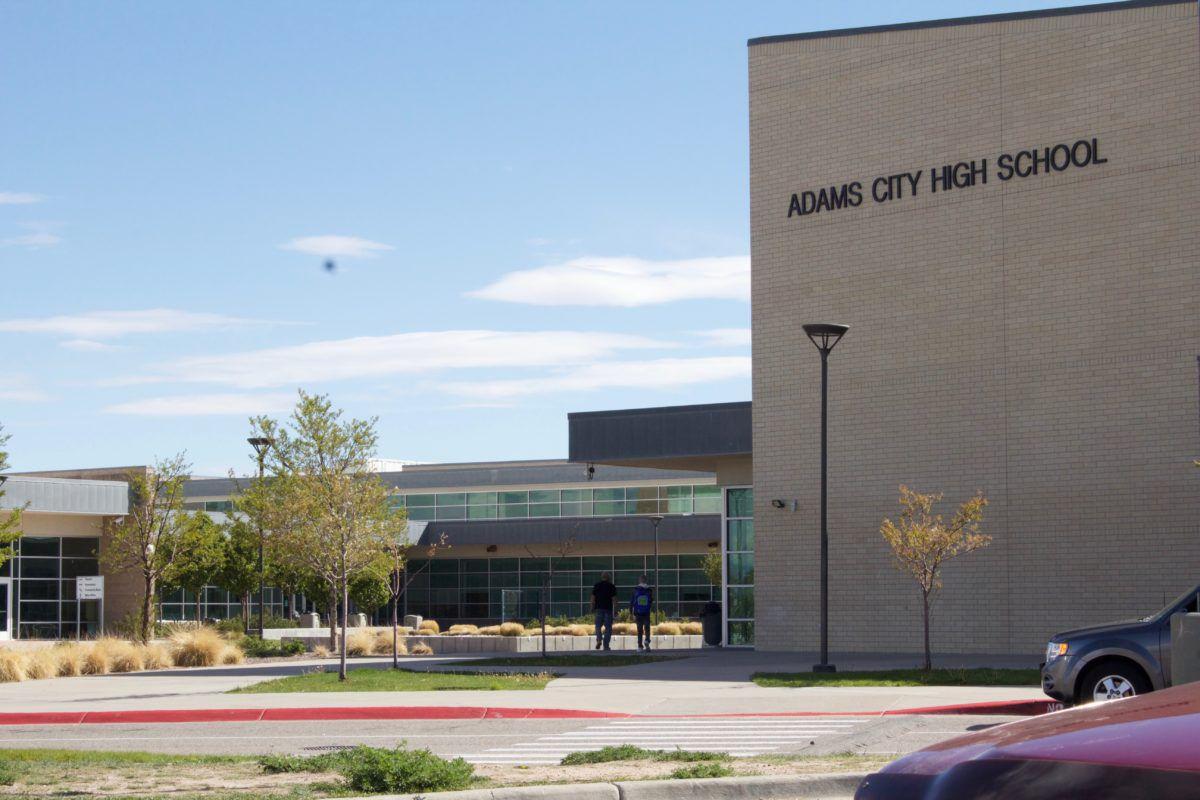 Adams City High School in Commerce City, Colorado.