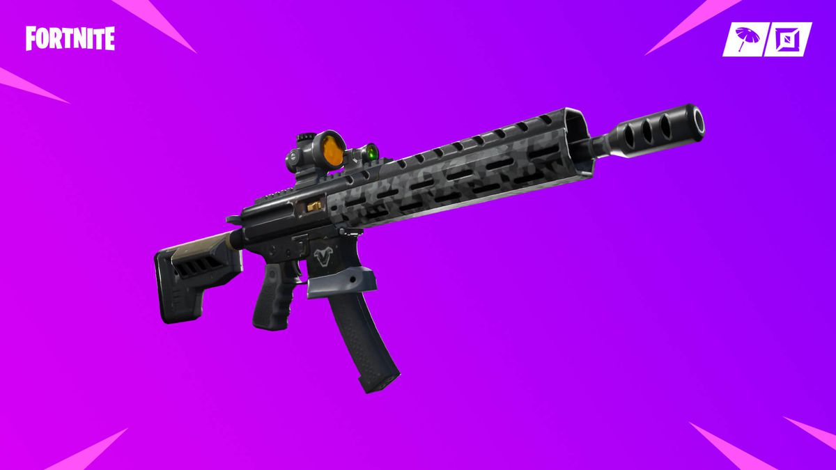 Fortnite's Tactical Assault Rifle