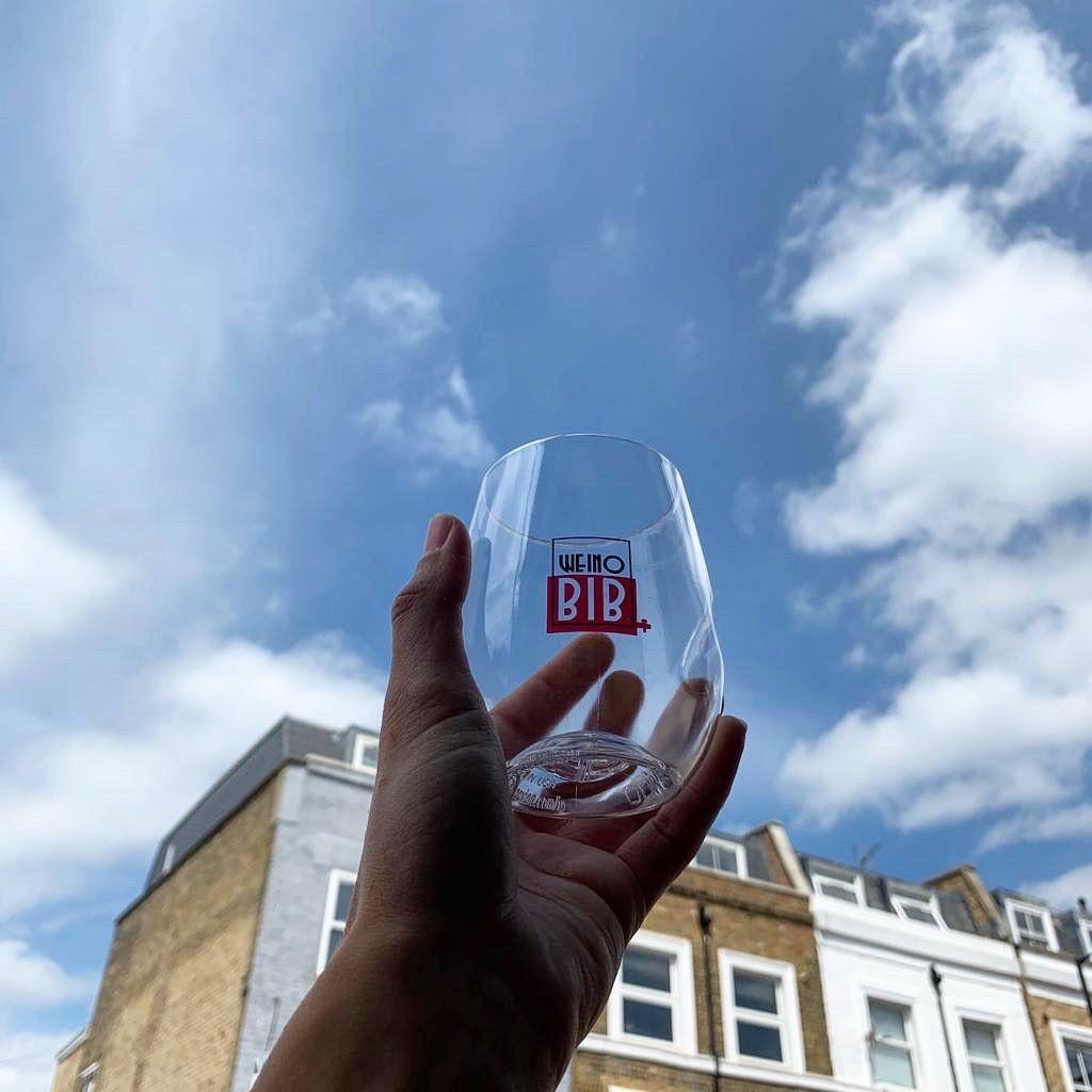 London's best restaurant merch includes this Weino bib glass