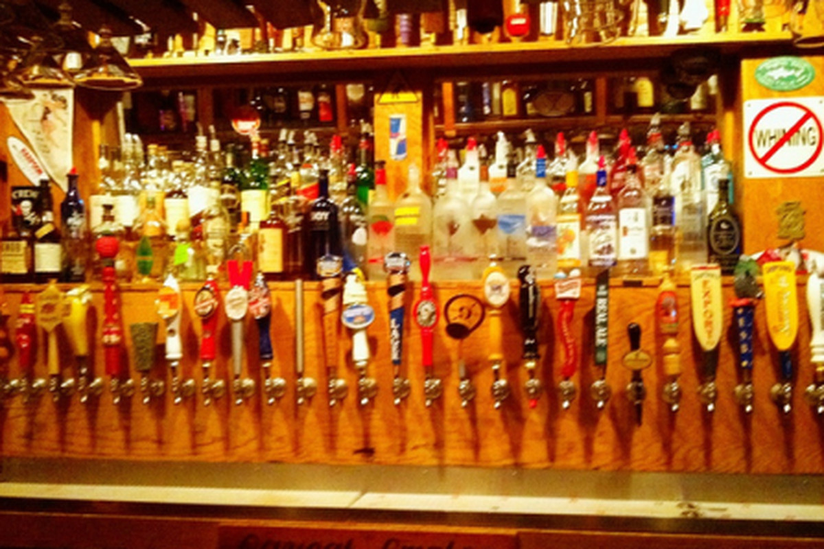 Taps at The Great Lost Bear