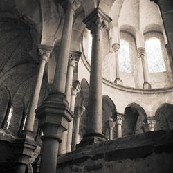"""Laurel Casjens' """"Ruins of the Choir Heisterbach Abbey, Siebengebirge Germany"""" will be featured in the Springville Museum of Art's """"Sacred Spaces: Archetypes and Symbols"""" exhibition."""