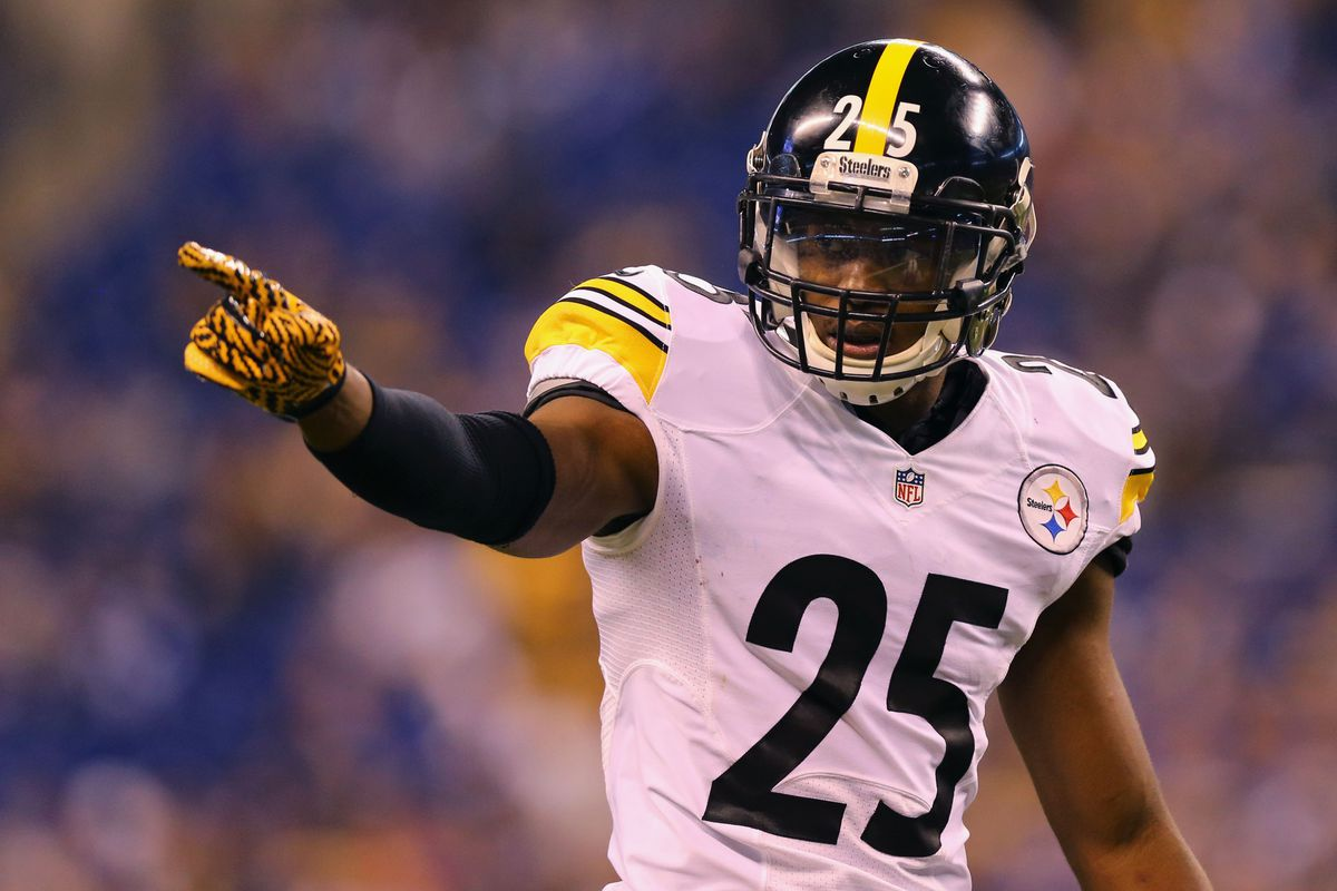 Artie Burns and Joe Haden staying on their respective sides of the